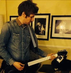 Mark from Kodaline with The BE Guitar