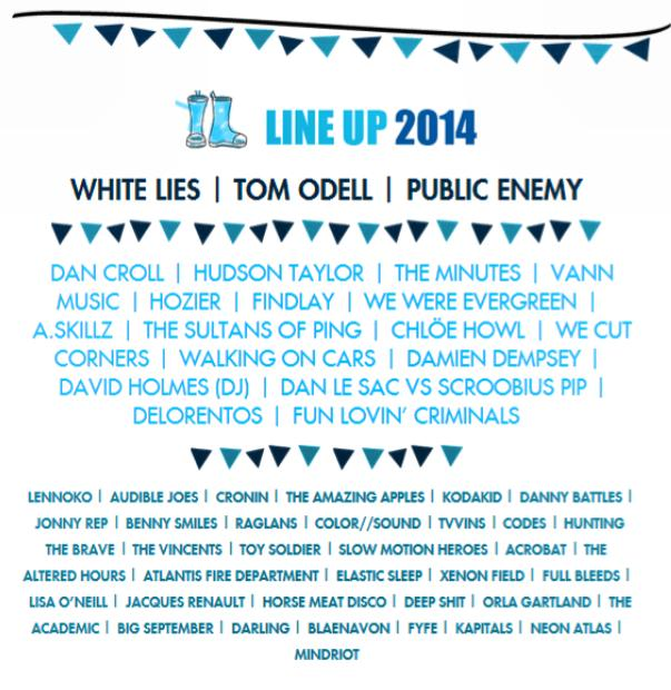 Indiependence 2014 line up
