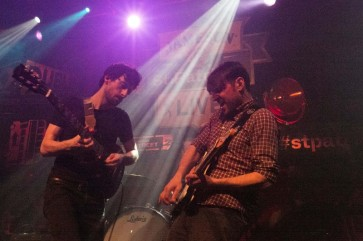 Delorentos performs at Vicar Street as part of Jameson St Patric