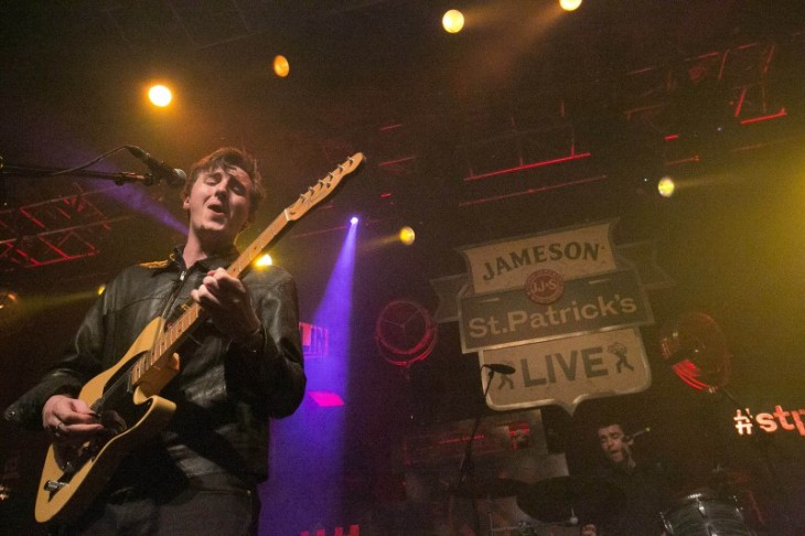 Little Green Cars performs at Vicar Street as part of Jameson St